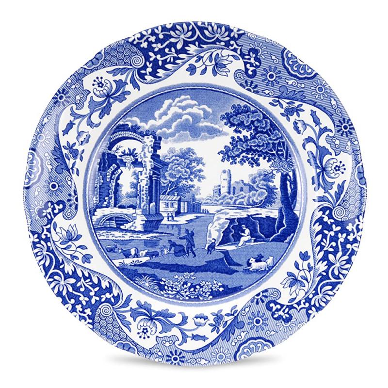Блюдо круглое 30см Blue Italian