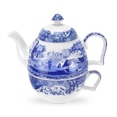 TEA FOR ONE  Blue Italian