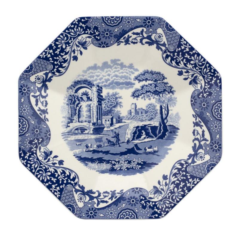 Блюдо 250 лет  Blue Italian
