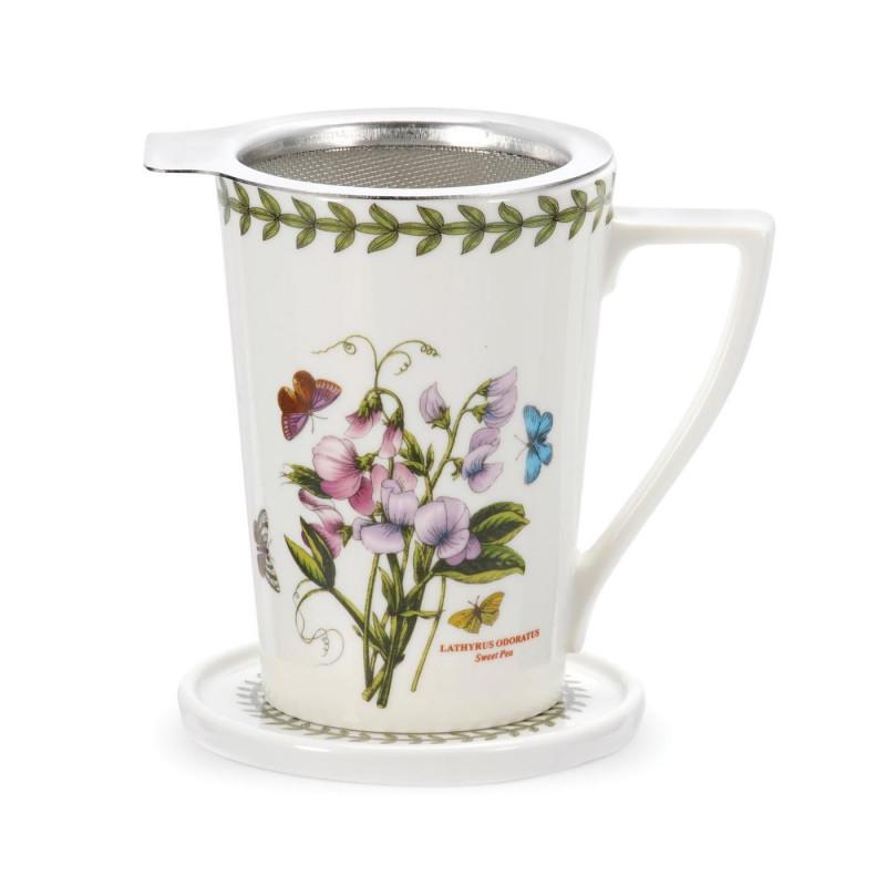Чашка с ситечком  Botanic Garden