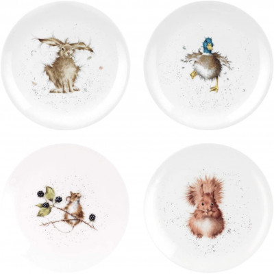 Тарелка салатная 21 см Wrendale Designs