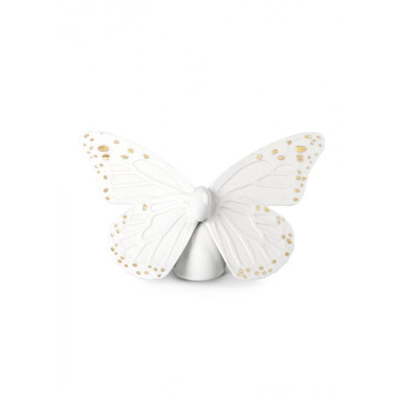 Бабочка золото Lladro