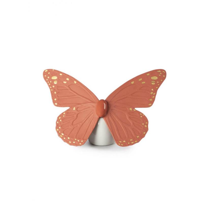Бабочка коралл Lladro