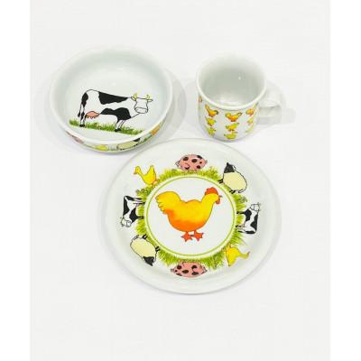 Детский набор столовой посуды Daily  Lande  от Rosenthal