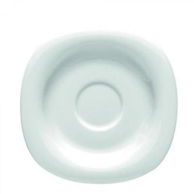Блюдце 16,5см WHITE SUOMI