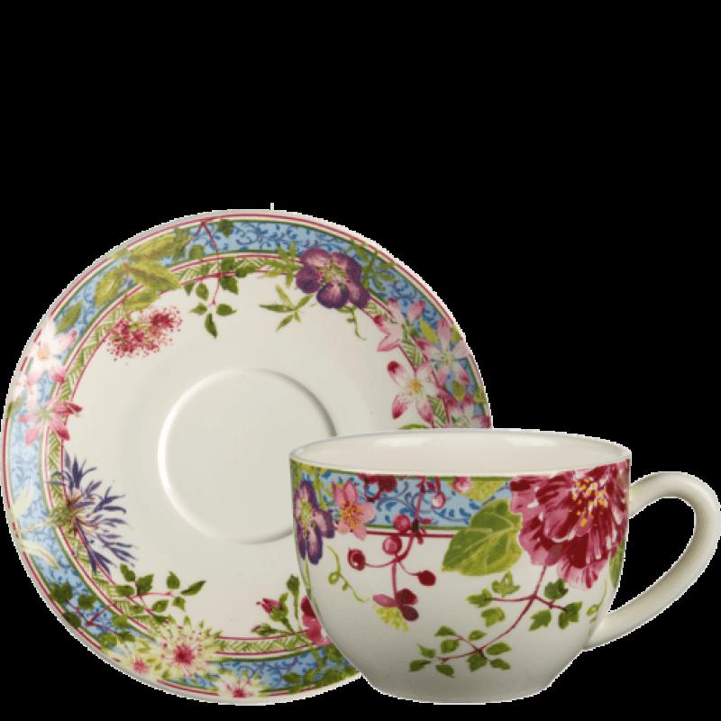 Чашка с блюдцем ( 2 персоны ) Millefleurs от Gien