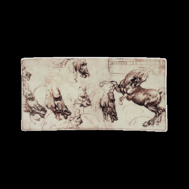 Блюдо Horses Leonardo De Vinci от Gien